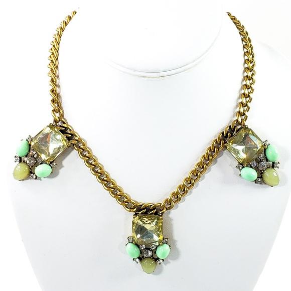 J. Crew Jewelry - J. Crew Statement Necklace 3 Pendants